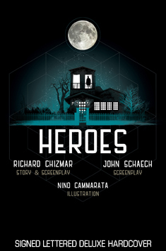 HEROES - signed lettered de-luxe edition