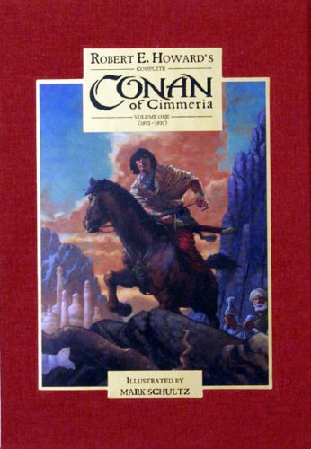 CONAN OF CIMMERIA Volume One 1932-1933 - slipcased limited edition of 100 copies